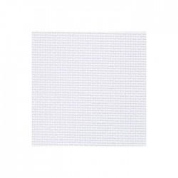 Toile Aïda Zweigart 5,4fils/cm - largeur 110cm - gris blanchi