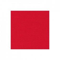 Aïda Zweigart 5,4pts/cm - largeur 110cm - rouge