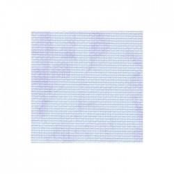 Aïda Zweigart 5,4pts/cm - largeur 110cm - bleu marbré