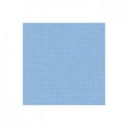 Aïda Zweigart 5,4pts/cm - 35x45cm - bleu