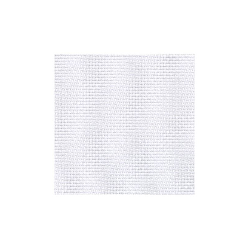 Aïda Zweigart 5,4pts/cm - 35x45cm - gris blanchi