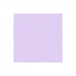 Aïda Zweigart 5,4pts/cm - 50x55cm - lilas pâle