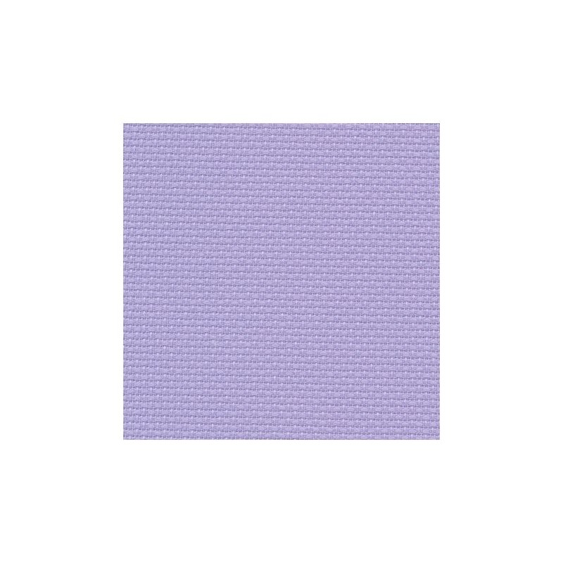 Aïda Zweigart 5,4pts/cm - 50x55cm - lavande