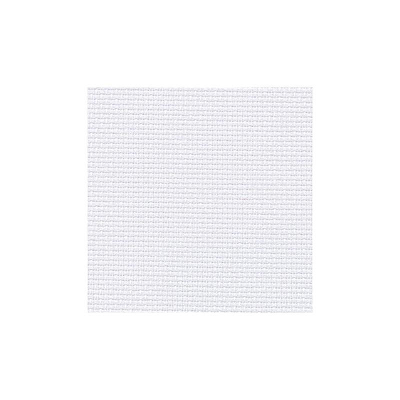 Aïda Zweigart 5,4pts/cm - 50x55cm - gris blanchi