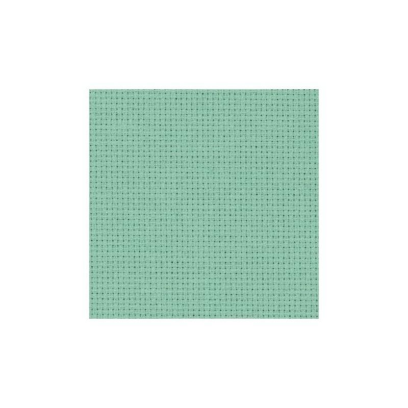 Aïda Zweigart 5,4pts/cm - largeur 110cm - gris vert clair