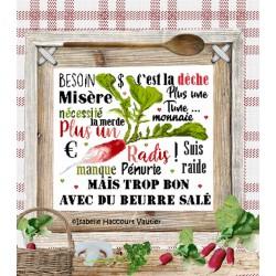 Plus un radis ! - Isabelle Haccourt Vautier