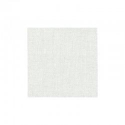 Toile Murano Zweigart 12,6fils/cm - largeur 140cm - blanc