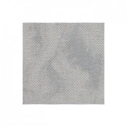 Toile Murano Zweigart 12,6fils/cm - largeur 140cm - gris marbré