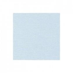 Toile Murano Zweigart 12,6fils/cm - largeur 140cm - bleu