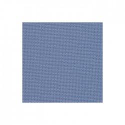 Toile Murano Zweigart 12,6fils/cm - laize 140 cm - bleu denim