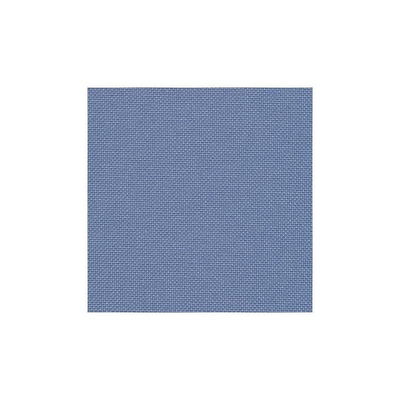 Toile Murano Zweigart 12,6fils/cm - largeur 140cm - bleu denim