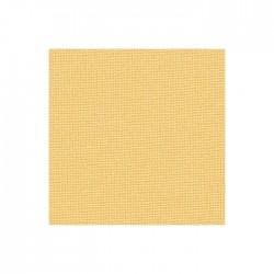 Toile Murano Zweigart 12,6fils/cm - laize 140 cm - jaune