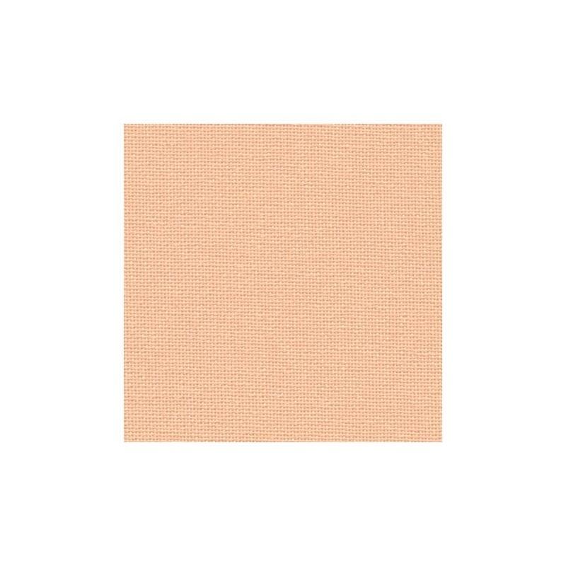 Toile Murano Zweigart 12,6fils/cm - largeur 140cm - saumon
