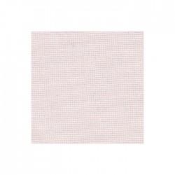 Toile Murano Zweigart 12,6fils/cm - largeur 140cm - rose pâle