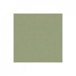 Toile Murano Zweigart 12,6fils/cm - laize 140 cm - vert olive
