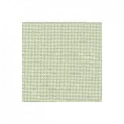 Toile Murano Zweigart 12,6fils/cm - largeur 140cm - vert léger
