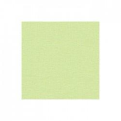 Toile Murano Zweigart 12,6fils/cm - largeur 140cm - vert anis