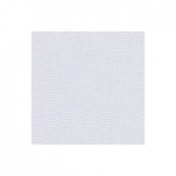 Toile Murano Zweigart 12,6fils/cm - largeur 140cm - gris blanchi