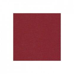 Toile Murano Zweigart 12,6fils/cm - laize 140 cm - bordeaux