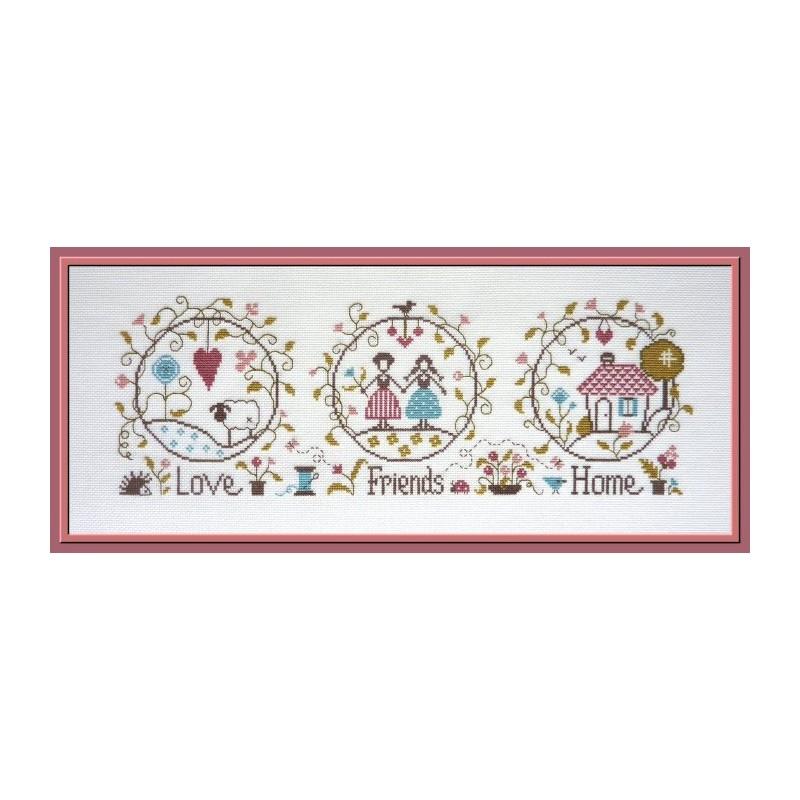 Love, Friends & Home - Jardin Privé