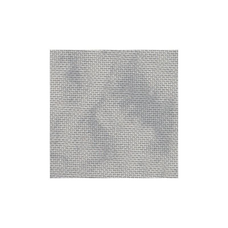 Toile Murano Zweigart 12,6fils/cm - 35x45cm - gris marbré