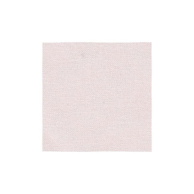 Toile Murano Zweigart 12,6fils/cm - 35x45cm - rose pâle