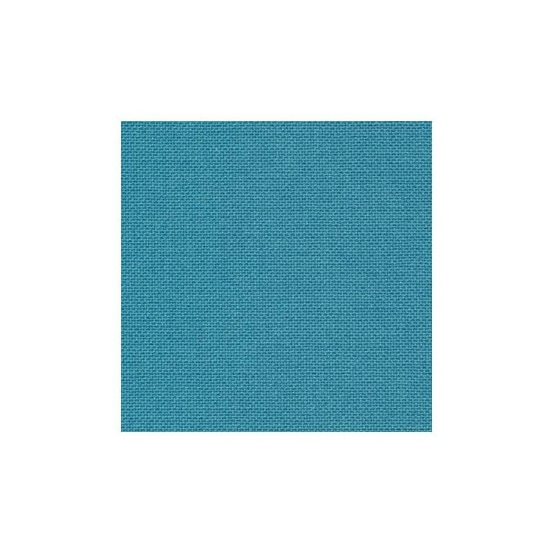 Toile Murano Zweigart 12,6fils/cm - 35x45cm - bleu canard