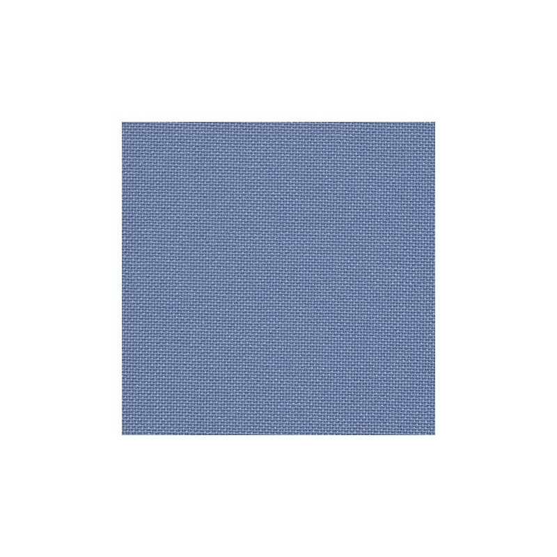 Toile Murano Zweigart 12,6fils/cm - 50x70cm - bleu denim