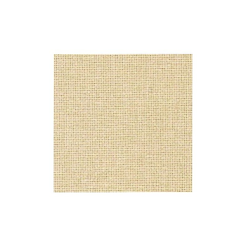 Toile Murano Zweigart 12,6fils/cm - 50x70cm - champagne