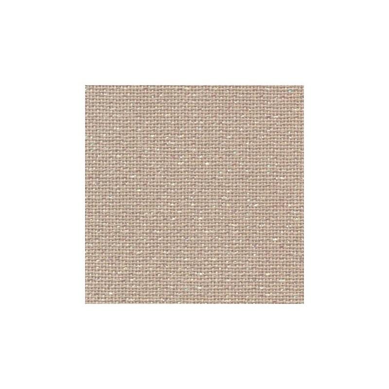 Toile Murano Zweigart 12,6fils/cm - 50x70cm - lin pailleté irisé