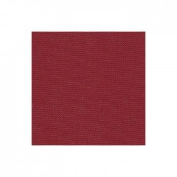 Toile Murano Zweigart 12,6fils/cm 50x70cm - bordeaux