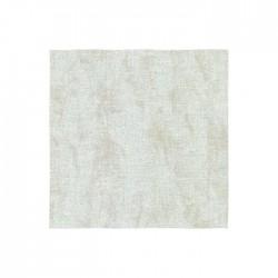 Lugana Zweigart 10 fils/cm - laize 140cm - blanc marbré beige