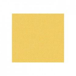 Lugana Zweigart 10 fils/cm - laize 140cm - jaune