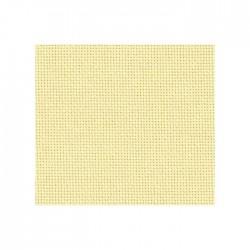 Lugana Zweigart 10 fils/cm - laize 140cm - crème vanille