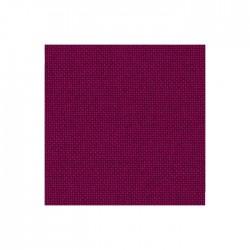 Lugana Zweigart 10 fils/cm - laize 140cm - rouge carmin