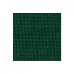 Toile Lugana Zweigart 10fils/cm - 35x45cm - vert sapin