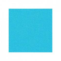 Toile Lugana Zweigart 10fils/cm - 35x45cm - turquoise