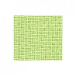 Toile Lugana Zweigart 10fils/cm - 35x45cm - vert pomme