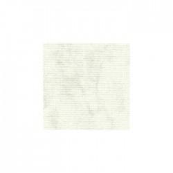 Toile Lugana Zweigart 10fils/cm - 50x70cm - blanc marbré gris
