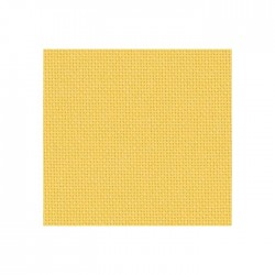 Toile Lugana Zweigart 10fils/cm - 50x70cm - jaune