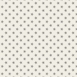 Tiny Star Grey - coupon 50x55cm - tissu Tilda