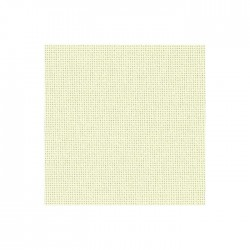 Toile Lugana Zweigart 10fils/cm - 50x70cm - perle