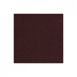 Toile Lugana Zweigart 10fils/cm - 50x70cm - chocolat
