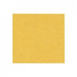 Toile Bellana Zweigart 8fils/cm - largeur 140cm - jaune