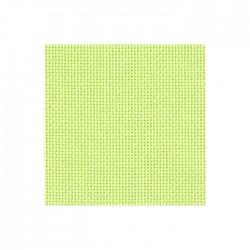 Toile Bellana Zweigart 8fils/cm - largeur 140cm - vert pastel
