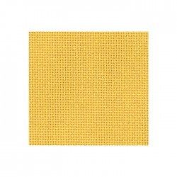 Bellana Zweigart 8fils/cm - 50x70cm - jaune