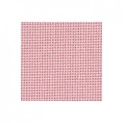 Bellana Zweigart 8fils/cm - 50x70cm - rose camay