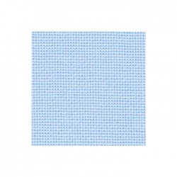 Toile Bellana Zweigart 8fils/cm - 35x45cm - bleu pastel