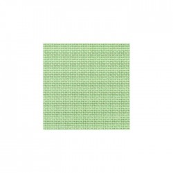 Toile Bellana Zweigart 8fils/cm - 50x70cm - vert doux