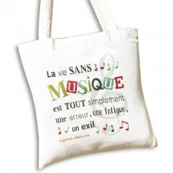 Le sac de musique - Lilipoints - Pack complet sac aïda 8 pts/cm blanc